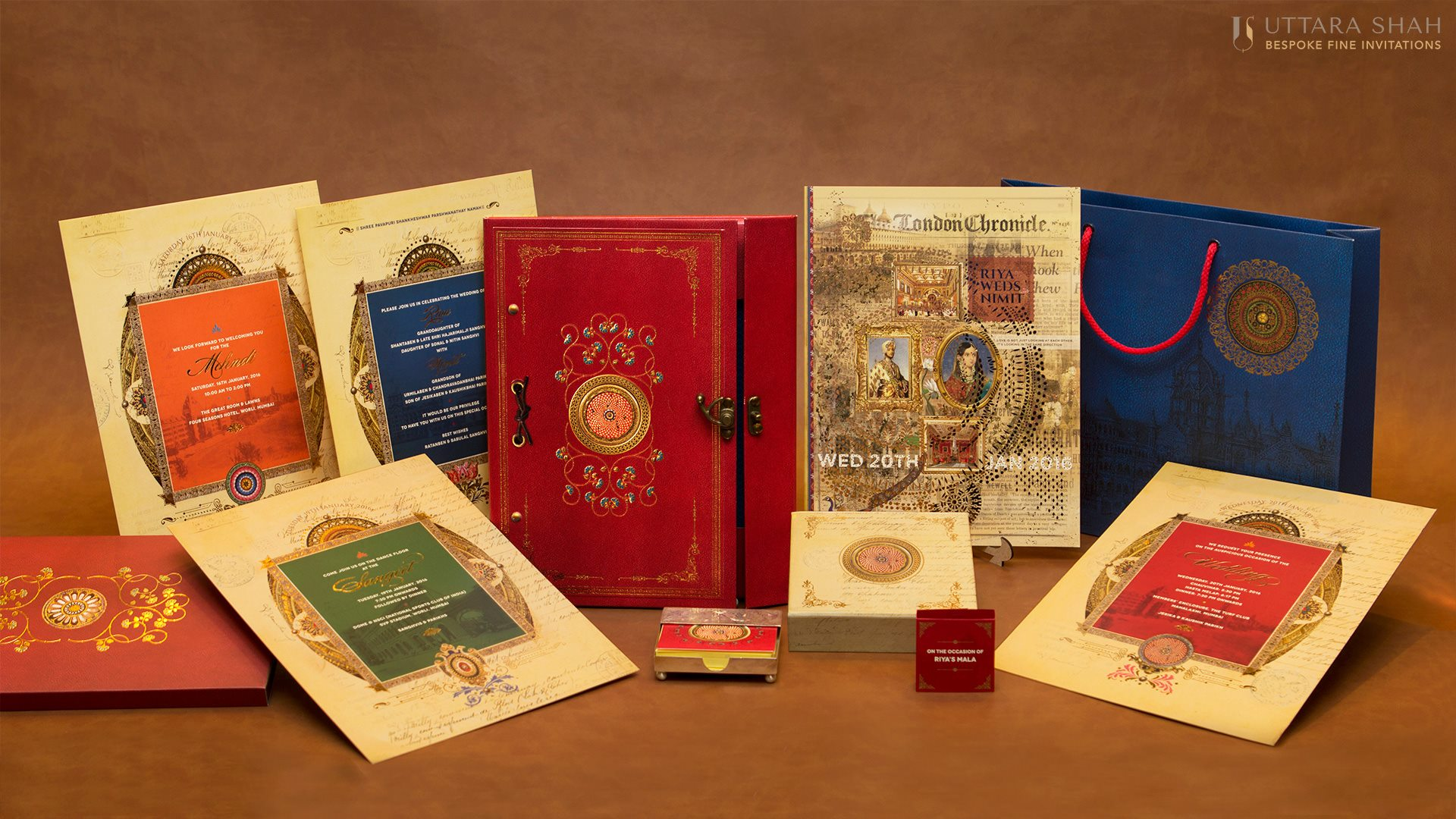 UTTARA SHAH INVITATIONS - Wedvendors
